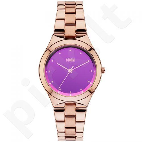 Moteriškas laikrodis STORM AMELLA RG-PURPLE