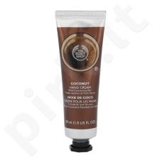 The Body Shop kokoso rankų kremas, kosmetika moterims, 30ml