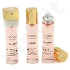 Chanel Coco Mademoiselle, tualetinis vanduo (EDT) moterims, 3x20 ml