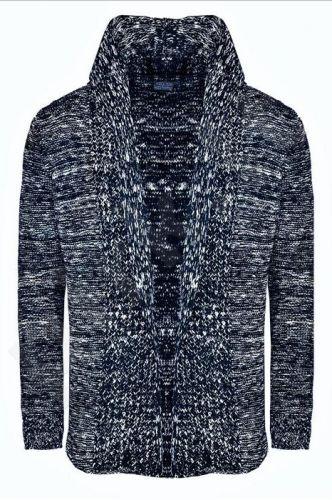 Megztinis vyrams KARDIGAN CRSM - juoda 9802-1