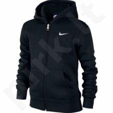 Bliuzonas Nike Brushed Fleece Full-Zip Hoodie Junior 619069-010