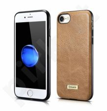 Fashionable leather back cover case, brown (iPhone 7/8)