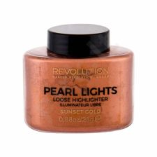 Makeup Revolution London Pearl Lights, skaistinanti priemonė moterims, 25g, (Sunset Gold)