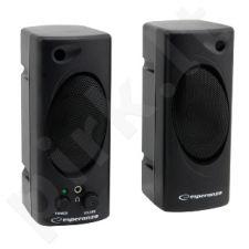 ESPERANZA Głośniki / Speakers 2.0 Tempo EP109 - 2 x 1W