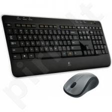 Bevielė klaviatūra Logitech + Pelė Combo MK520, US