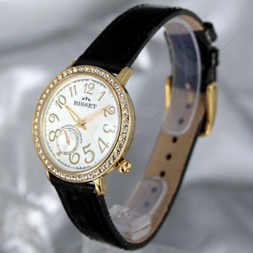 Moteriškas laikrodis BISSET Queen Ice BS25C01Q LG WH BK