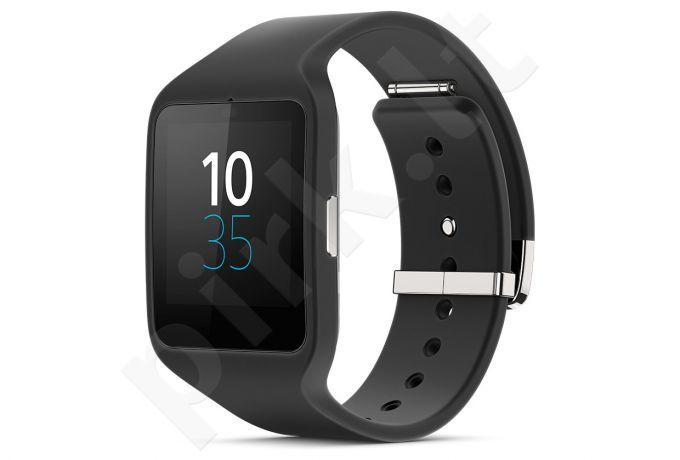 Laikrodis Sony Smart Watch 3 SWR50 Classic juodas