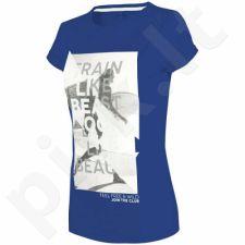 Marškinėliai 4f W H4L18-TSD015 mėlyna