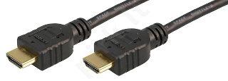 Kabelis LogiLink HDMI - HDMI 1.4 , Gold, 3m