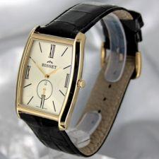 Universalus laikrodis BISSET Slim Palu BS25C35 MG GD BK