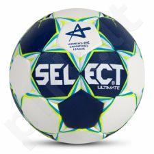 Rankinio kamuolys SELECT Ultimate Replica Women Champions League 2 mėlyna-balta