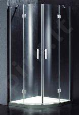 Dušo kabina BEF14 skaidri be pado (tik stiklai)