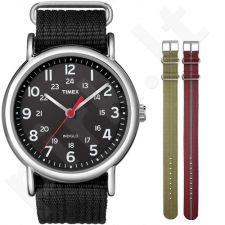 Timex Weekender Kit T2N647KIT vyriškas laikrodis