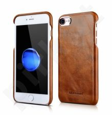 Leather back cover case, brown (iPhone 7/8)