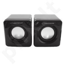 ESPERANZA Głośniki / Speakers 2.0 Leggiero EP111 Cube USB - 2 x 3W