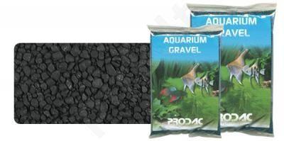 Gruntas akvariumui juodas 2-3 mm 1 kg