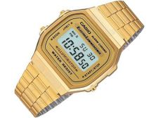 Casio Retro Collection A168WG-9WDF vyriškas laikrodis-chronometras