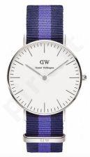 Laikrodis DANIEL WELLINGTON CLASSIC SWANSEA SILVER 0603DW