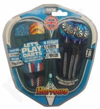 DartsSoftip rink. LET'S PLAY DARTS 0349 3x18gR