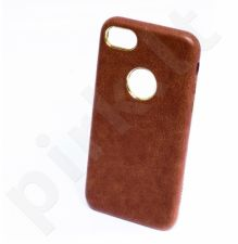 PU leather back cover case, brown (iPhone 7/8)