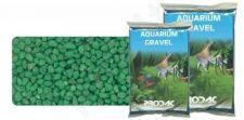Gruntas akvariumui šviesiai žalias 2-3 mm 2.5 kg