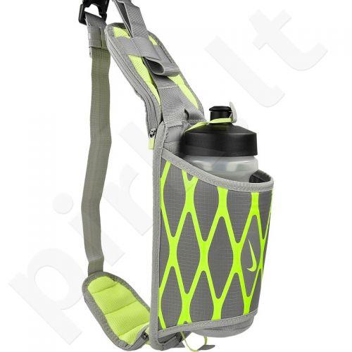 Diržas juosmeniui su gertuve Nike Storm Hydration Waistpack NRL28030-030