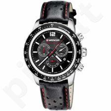 Vyriškas laikrodis WENGER ROADSTER BLACK NIGHT CHRONO 01.0853.105