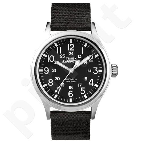 Timex Expedition T49962BK vyriškas laikrodis