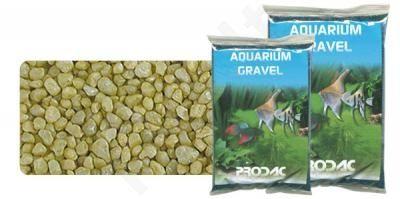 Gruntas akvariumui geltonas 2-3 mm 2.5 kg