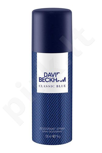 David Beckham Classic Blue, dezodorantas vyrams, 150ml