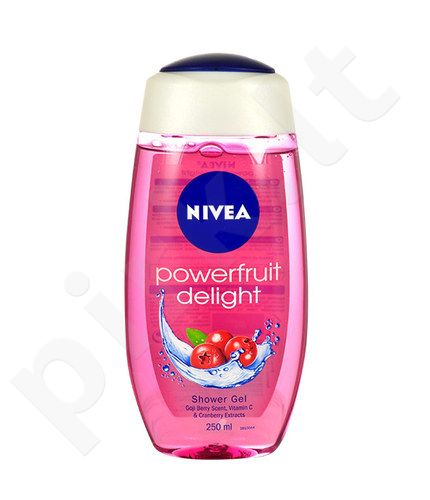 Nivea Powerfruit Delight dušo želė, kosmetika moterims, 250ml