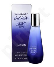 Davidoff Cool Water Night Dive, EDT moterims, 50ml