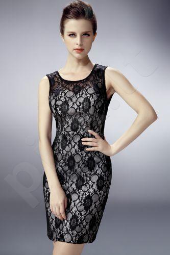 PINK BOOM suknelė - juoda 5349
