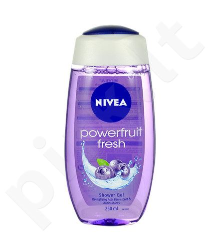 Nivea Powerfruit Fresh dušo želė, kosmetika moterims, 250ml