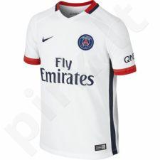 Marškinėliai futbolui Nike PSG Paris Saint-Germain Stadium Away Junior 659094-106