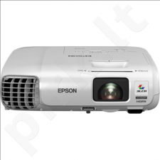 Epson EB-955WH ShortThrow 3LCD WXGA/16:10/1280x800/3200Lm-2240Lm/10000:1/Zoom 1.6x/Lamp 5000h/VGAx2
