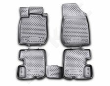Guminiai kilimėliai 3D DACIA Sandero, 2008-2012, 4 pcs. /L11010G /gray