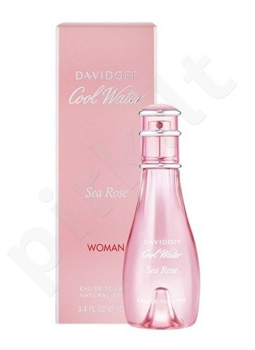 Davidoff Cool Water Sea Rose, tualetinis vanduo (EDT) moterims, 50 ml