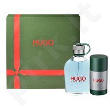 Hugo Boss Hugo rinkinys vyrams, (EDT 75 + 75ml pieštukinis dezodorantas)