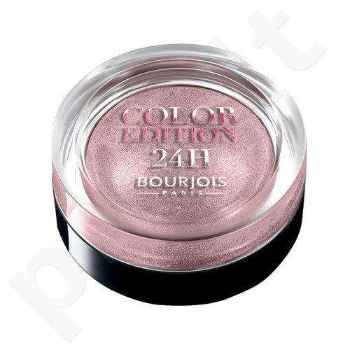 BOURJOIS Paris Color Edition 24H akių šešėliai, kosmetika moterims, 5g, (06 Bleu Ténébreux)