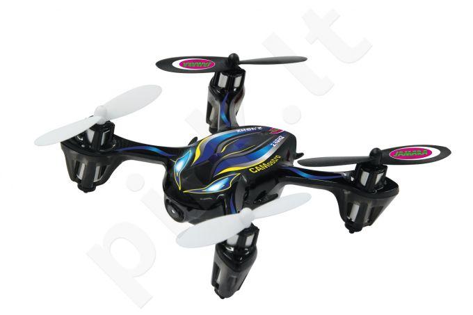 Radio bangomis valdomas Jamara Camostro dronas su vaizdo kamera