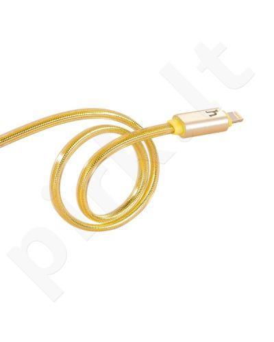 Apple iPhone 5/6 laidas UPL12 2m HOCO auksinis
