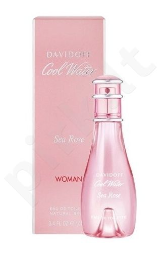 Davidoff Cool Water Sea Rose, tualetinis vanduo (EDT) moterims, 100 ml