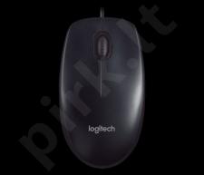 Pelė Logitech M90, USB, Juoda