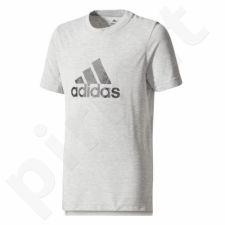 Marškinėliai adidas YB Prime Log Tee Junior CE5748