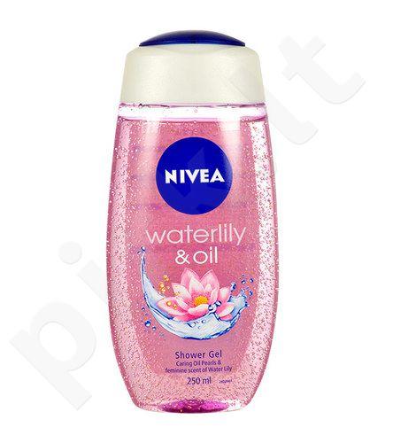 Nivea Waterlily & Oil dušo želė, kosmetika moterims, 250ml