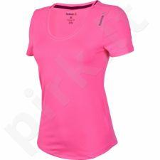 Marškinėliai treniruotėms Reebok Workout Ready Tee W AY2191