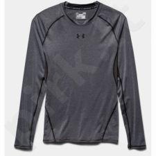 Marškinėliai treniruotėms Under Armour HeatGear® Armour Long Sleeve Compression Shirt M 1257471-090
