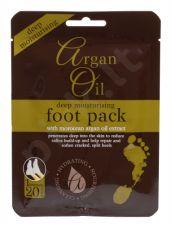 Xpel Argan Oil, Deep Moisturising Foot Pack, Foot kremas moterims, 1pc