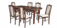 Stalas 2 + 6 kėdės